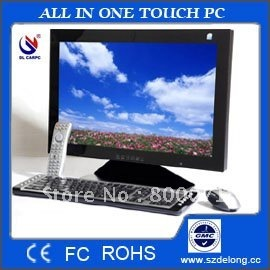 "19""industral all in one touch pc, touch all in one pc, all in one pc touchscreen-with intel atom d525 cpu, wifi build in."