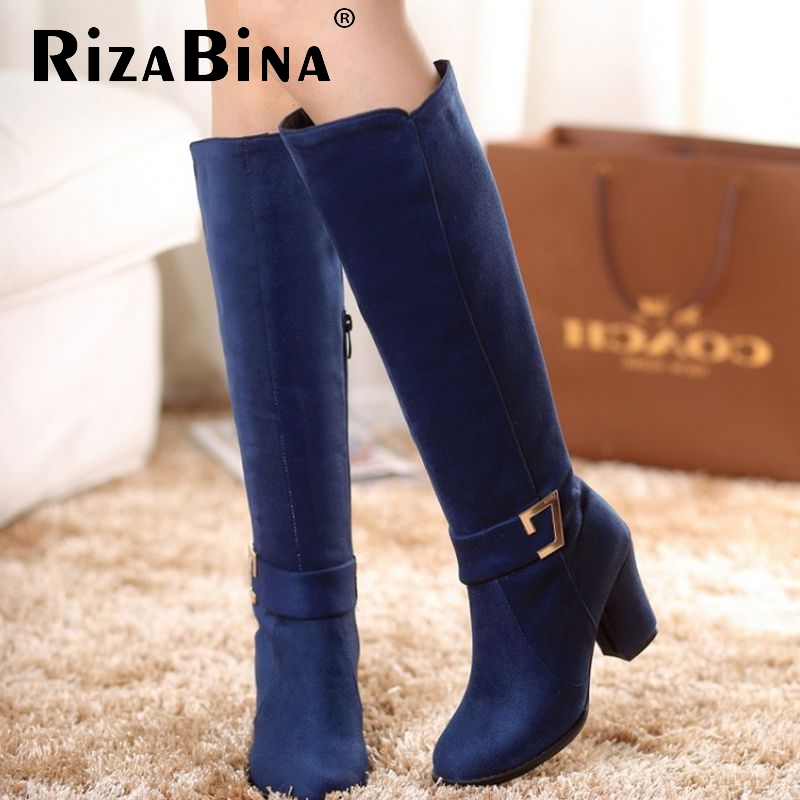 size 32-48 women over knee boots high heel winter botas equestrian lace fashion long boot warm sexy footwear heels shoes P22237<br><br>Aliexpress