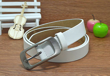 High quality 2016 children Genuine leather cowhide leisure joker thin belts boy and gril fashion Pin buckle belt(China (Mainland))