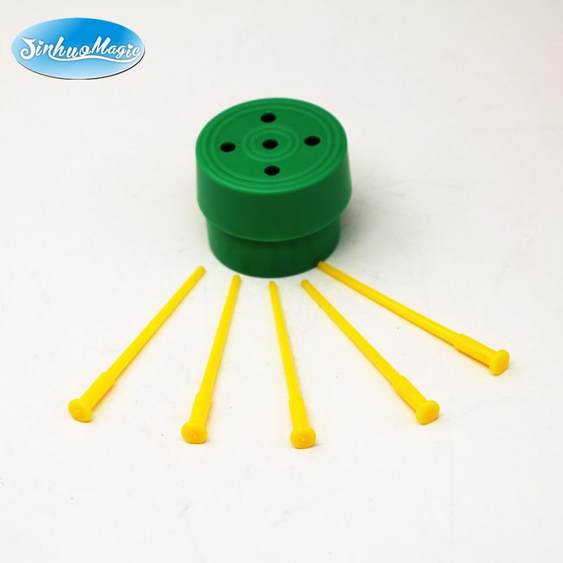 Spiked Coin pull on nail to penetrate the drum magic tricks 200pcs/lot for magic toy wholesales<br><br>Aliexpress