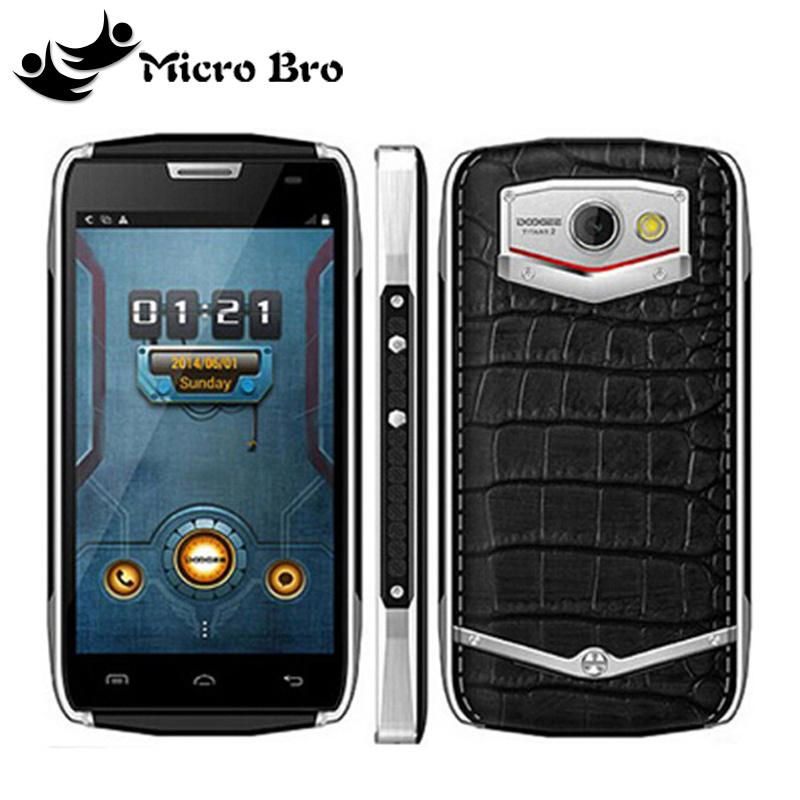 "Original Doogee DG700 TITANS2 IP67 Waterproof MTK6582 Quad Core Cell Phone 4.5"" Android 5.0 1GB RAM 8GB ROM 4000mAh 3G WCDMA(China (Mainland))"