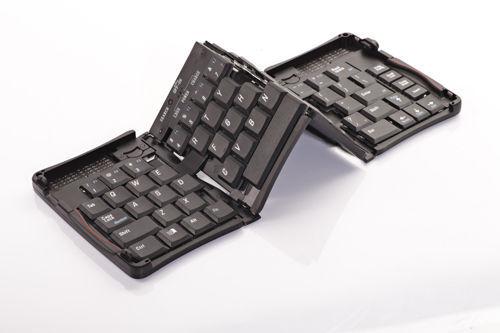 Bluetooth Wireless Foldable Full Size Keypad Flyshark Keyboard For Iphone 4/4S/5/5C/5S/6 S4/S5/Note3/HTC(China (Mainland))