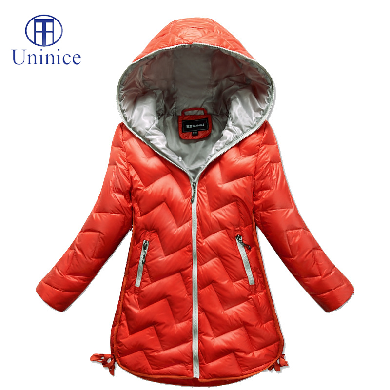 2015 Girls Clothes Kids Warm Winter Coat Fashion Baby Girls Down Jacket Pure Colour Children Coat Hooded Kids Outerwear 4-12T