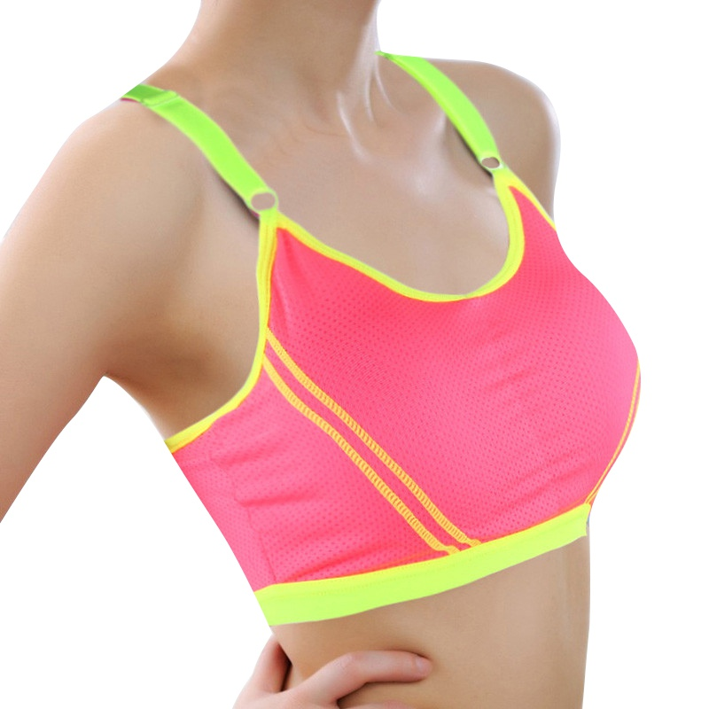 Lady Casual Sports Bras Sexy Seamless Breathable Push Up Fitness Bras Leisure Stretch Bra(China (Mainland))