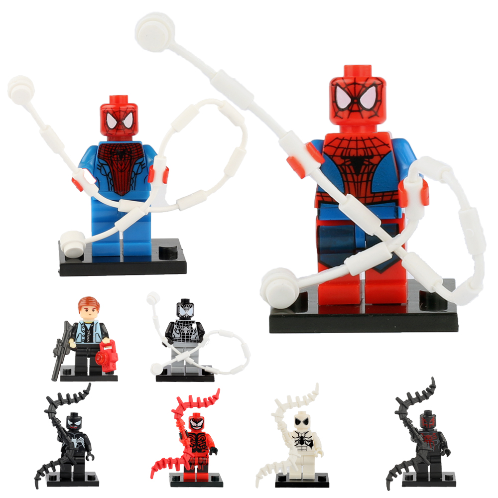 Lego spiderman minifig