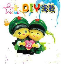 CMD fancy diy gypsum toys wholesale coloured drawing or pattern Evade glue dolls dolls painted toys(China (Mainland))