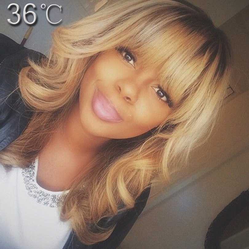 Здесь можно купить  best human hair wigs with bangs ombre human hair full lace wig two tone color glueless lace front human hair wigs with full bang  Волосы и аксессуары