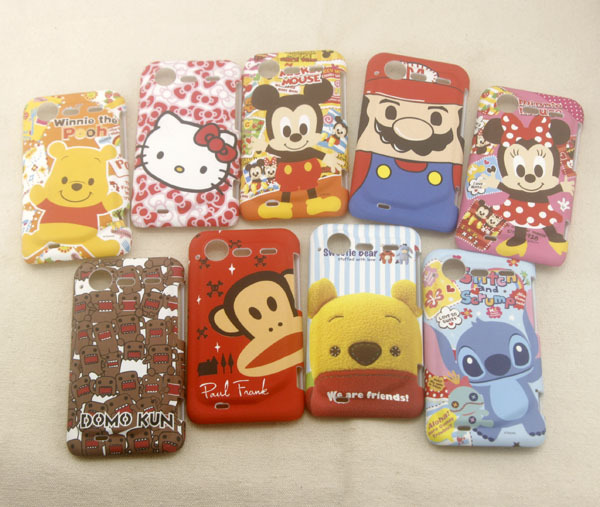 For HTC Incredible S back protector Hard phone case Cartoon cute Case(China (Mainland))