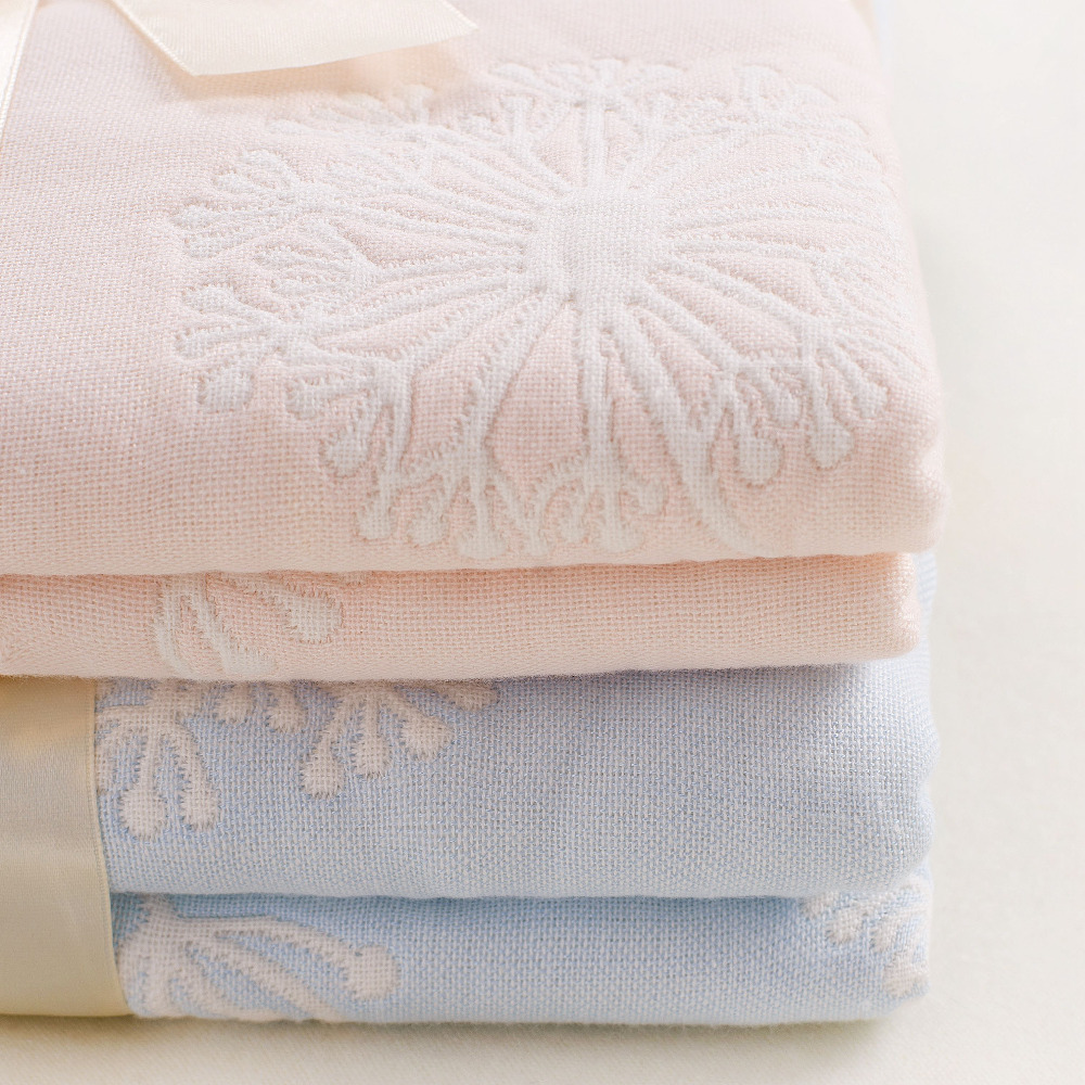 110*110cm Cotton Muslin Baby Blanket,Newborn Infant Swaddle Baby Towel, Luxury 6 layers muslin blanket(China (Mainland))