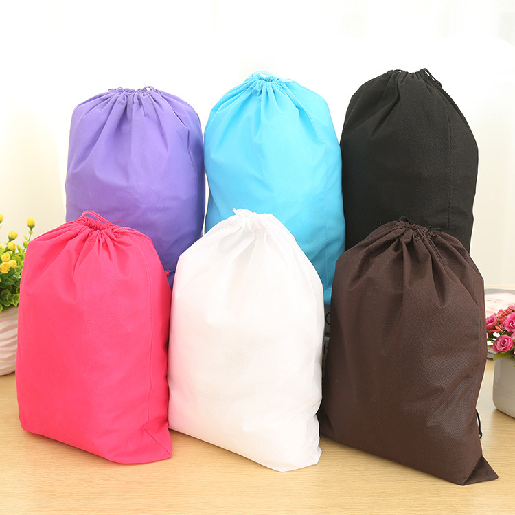 2016 NEW Thicken Travel debris Portable storage bag Non-woven shoe Pouch Finishing Bag Shoe bags(China (Mainland))