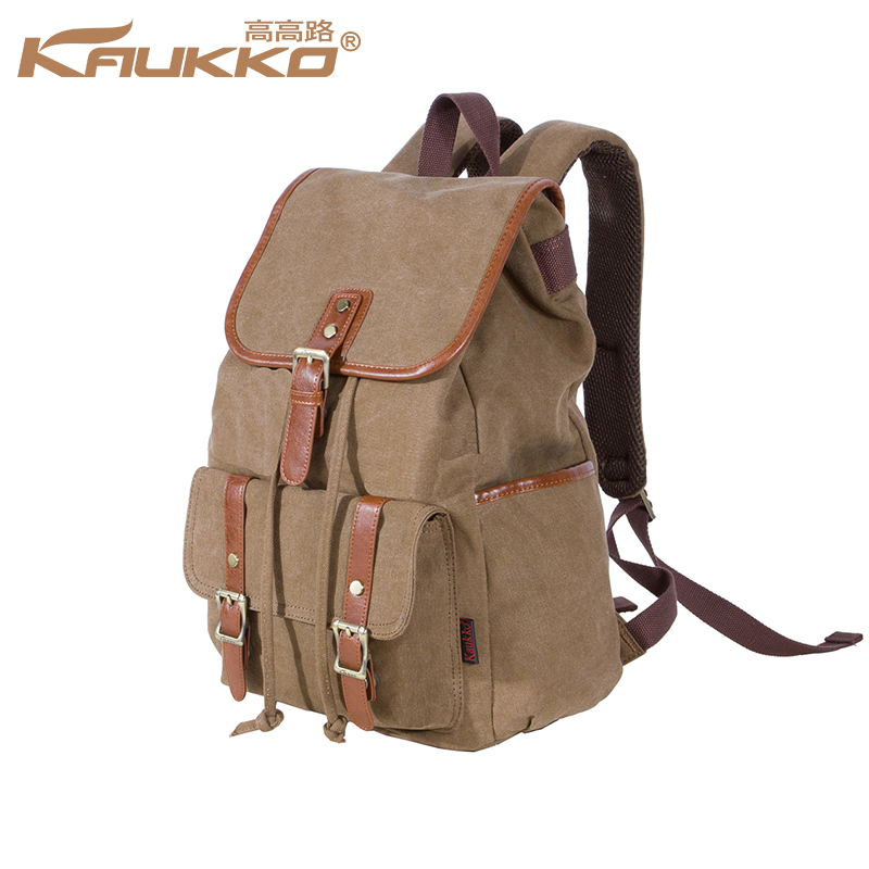 2015 Hot Sale New Fashion Pure Cotton Canvas Backpack Women bags Shoulder Bag Vintage Bag Rucksack Free Shipping(China (Mainland))