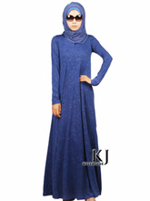 muslim prayer dress 2015 long sleeve islamic clothing for women abaya Crystal linen fabric Embossing muslim robe hijab KJ1505011(China (Mainland))