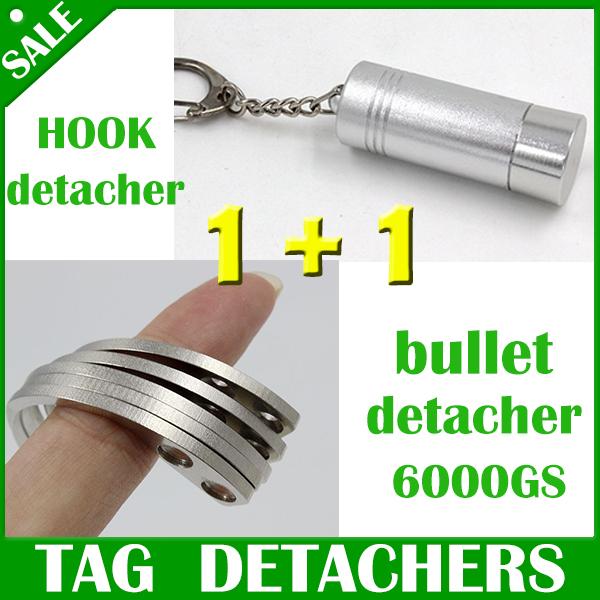 Гаджет  1pcs bullet detacher stop lock detacher  EAS Hard Tag  detacher 6000gs+ 1pcs handheld hook detacher None Безопасность и защита