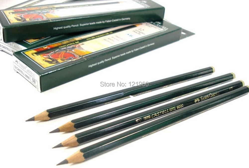 Faber Castell Pencils Drawings Pencils Faber-castell 9000