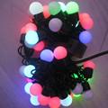 5M 50LEDS LED Ball Holiday Christmas fairy lights led Changing with Linkable Ball String Christmas Xmas