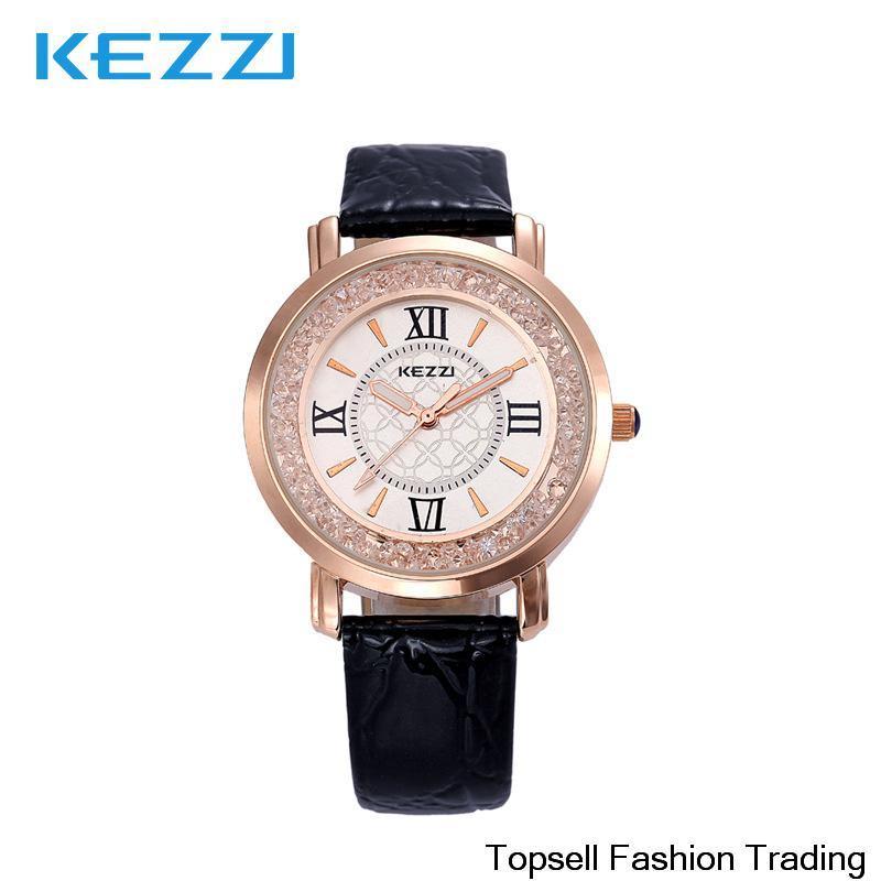 2014 new ladies watch brand Vintage Cow leather women's wristwatches ROMA Quartz women dress watch Free shipping(China (Mainland))