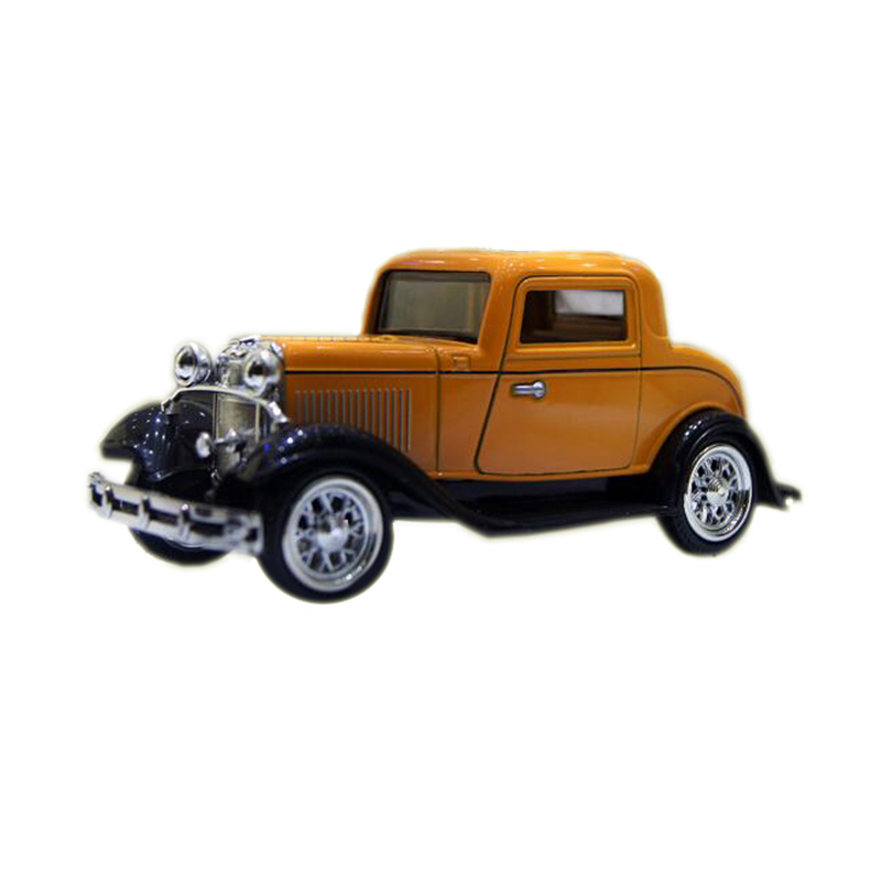1:32 Classic Ford Wecker Vintage Car Models Alloy Diecast Vehicle Pull Back Car Model Toys Car Collection Furnish Kids Gifts #F(China (Mainland))