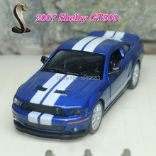 Brand New 1/38 Scale Diecast Car Model Toys 2007 Ford Cobra Shelby GT500 Metal Pull Back Car Toy For Gift/Kids -Free Shipping