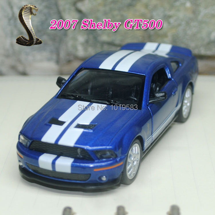 Brand New 1/38 Scale Diecast Car Model Toys 2007 Ford Cobra Shelby GT500 Metal Pull Back Car Toy For Gift/Kids -Free Shipping(China (Mainland))