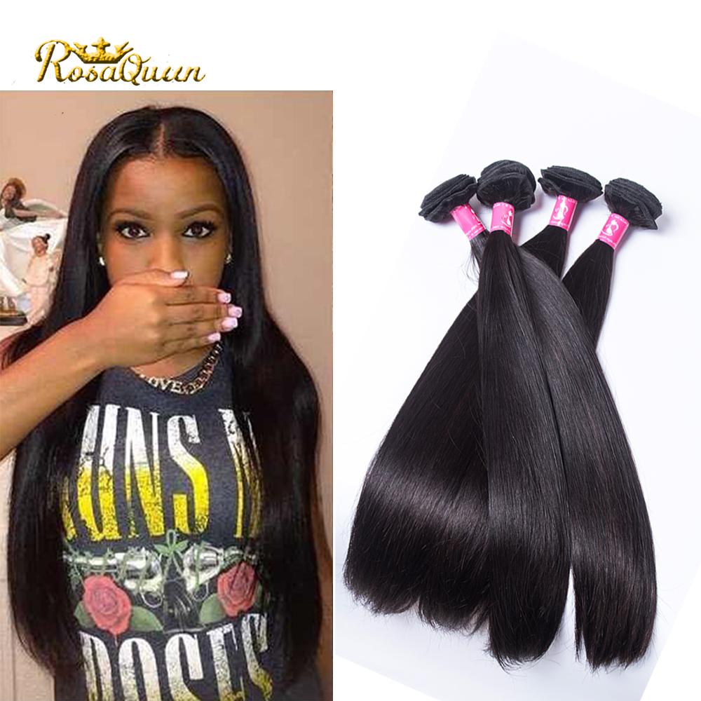 7a unprocessed virgin hair human hair weave 4 pcs hot lady hair straight cambodian virgin hair rosa hair products silky straight