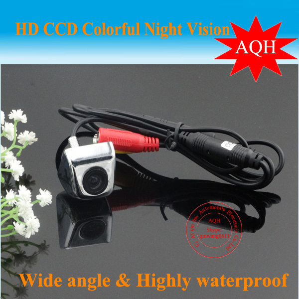 Promotion 100% High Quality Super Mini Car Rear View Camera back up reversing Camera/ with 170degree waterproof free shipping(China (Mainland))