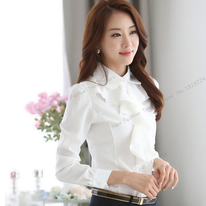 Popular Women's Plain Long Sleeve Shirt-Buy Cheap Women's ...