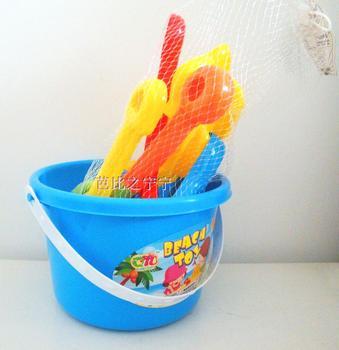 Beach toy summer toy beach bucket toy beach bucket 7 piece set