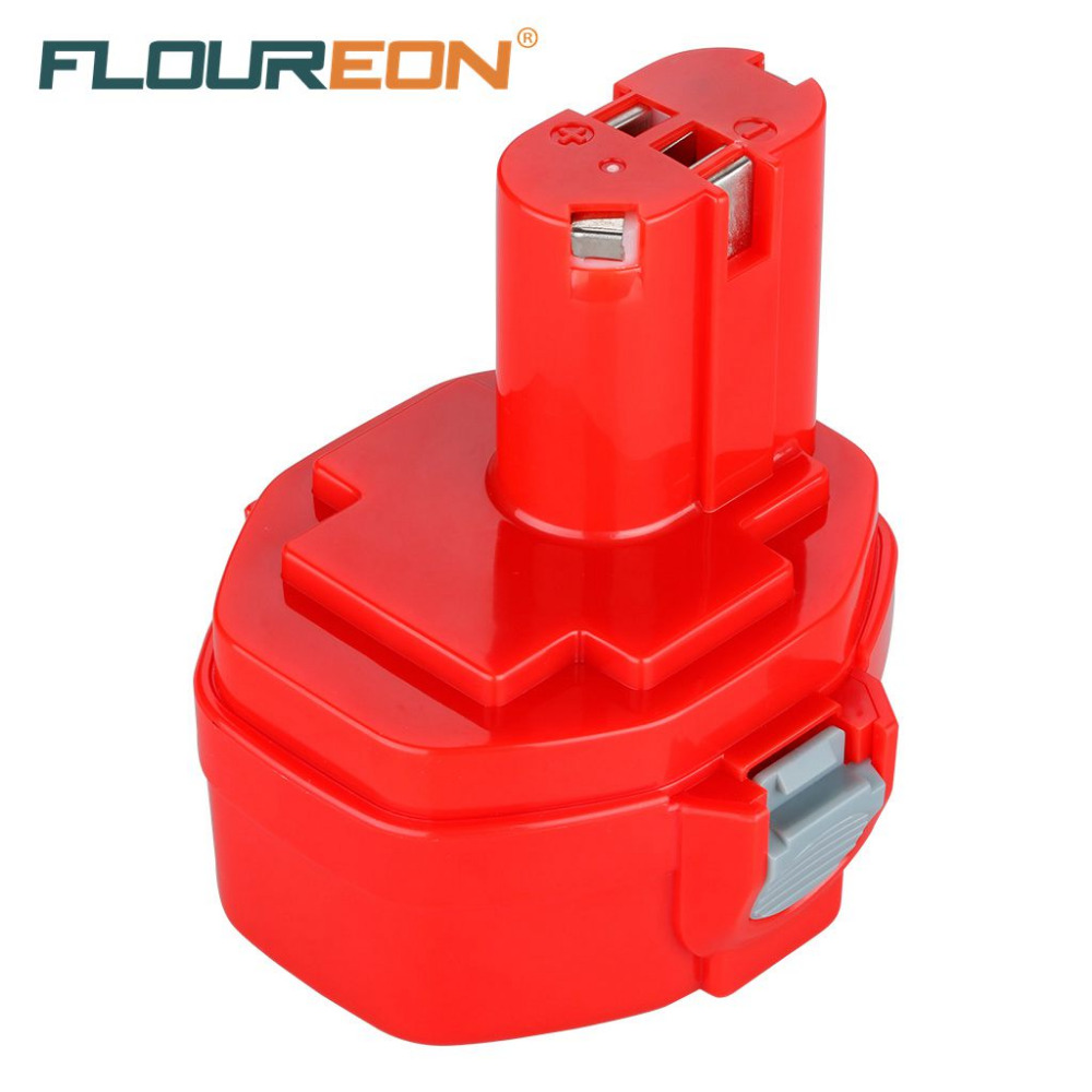 FLOUREON For Makita 14.4V 2000mAh Ni-CD Power Tools Rechargeable Battery Pack for Cordless Drill PA14 1420 1422 1433 1434(China (Mainland))
