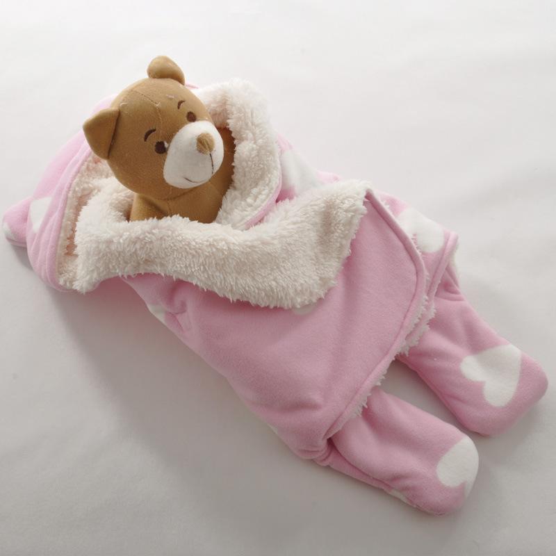 2016 New Style Newborn Baby Bedding Blanket & Swaddling Neonatus Swaddle Infant Wrap Envelope Blanket Footsies Sleeping Bags(China (Mainland))