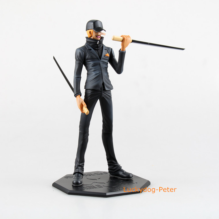 Free Shipping One Piece CP9 Ecki Action Figure World Govt. CP9 Kaku Doll PVC ACGN figure Garage Kit Toy Brinquedos Anime 23CM(China (Mainland))