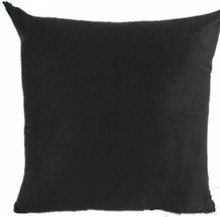 Solid black color throw pillows cushion covers