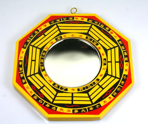 Bagua espejo espejo c ncavo espejo grande transbordado for Feng shui espejos ubicacion