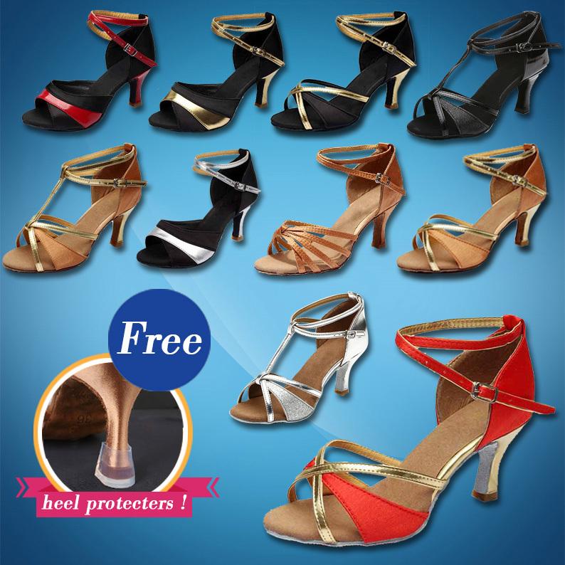 Brand New Women's Tango Ballroom Latin Dance Shoes salsa shoes 5cm / 7cm heeled Hot Sales(China (Mainland))