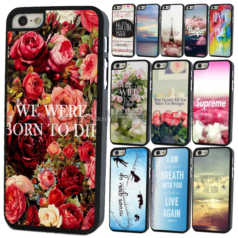 Summer Scenery Printed Phone Case for iPhone 5C Hard Plastic Color Painted Pattern Phone Back Protector Flowers Phone Case Cover(China (Mainland))