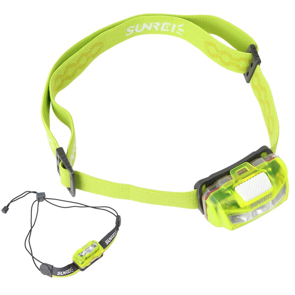 Гаджет  370LM SUNREE Sports 2s Mini IPX6 Waterproof LED Headlamp 4 Modes 2 x Nichia +1 x White LEDs Headlight None Свет и освещение