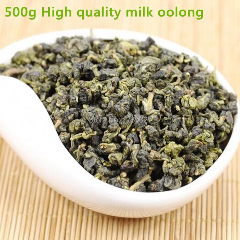 Milk Oolong tea,500g of high-quality Taiwan mountain oolong tea,green and healthy food,milk oolong,Jin Xuan tea,free shipping(China (Mainland))
