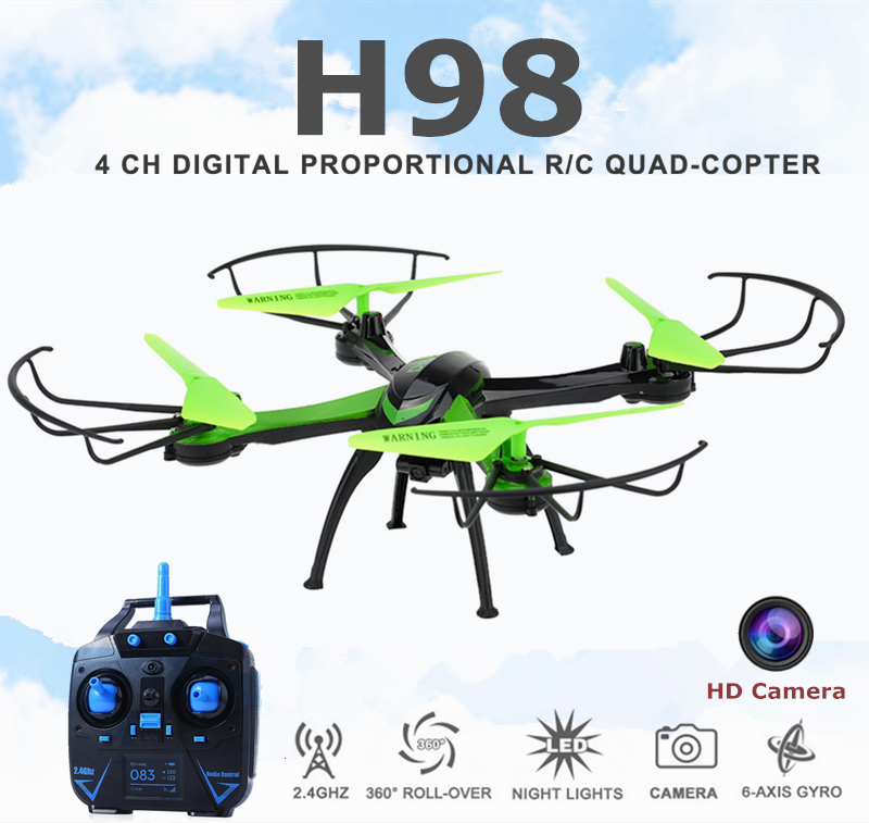 Jjrc H98 Rc Quadcopter With Camera HD Flying Camera Helicopter Professional Dron Headless Mode Copter Remote Control Drone(China (Mainland))