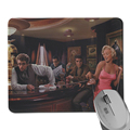 New Fashion Beautiful Vintage Photos Monroe Pattern Background Rubber Mouse Pad For Drop shipping