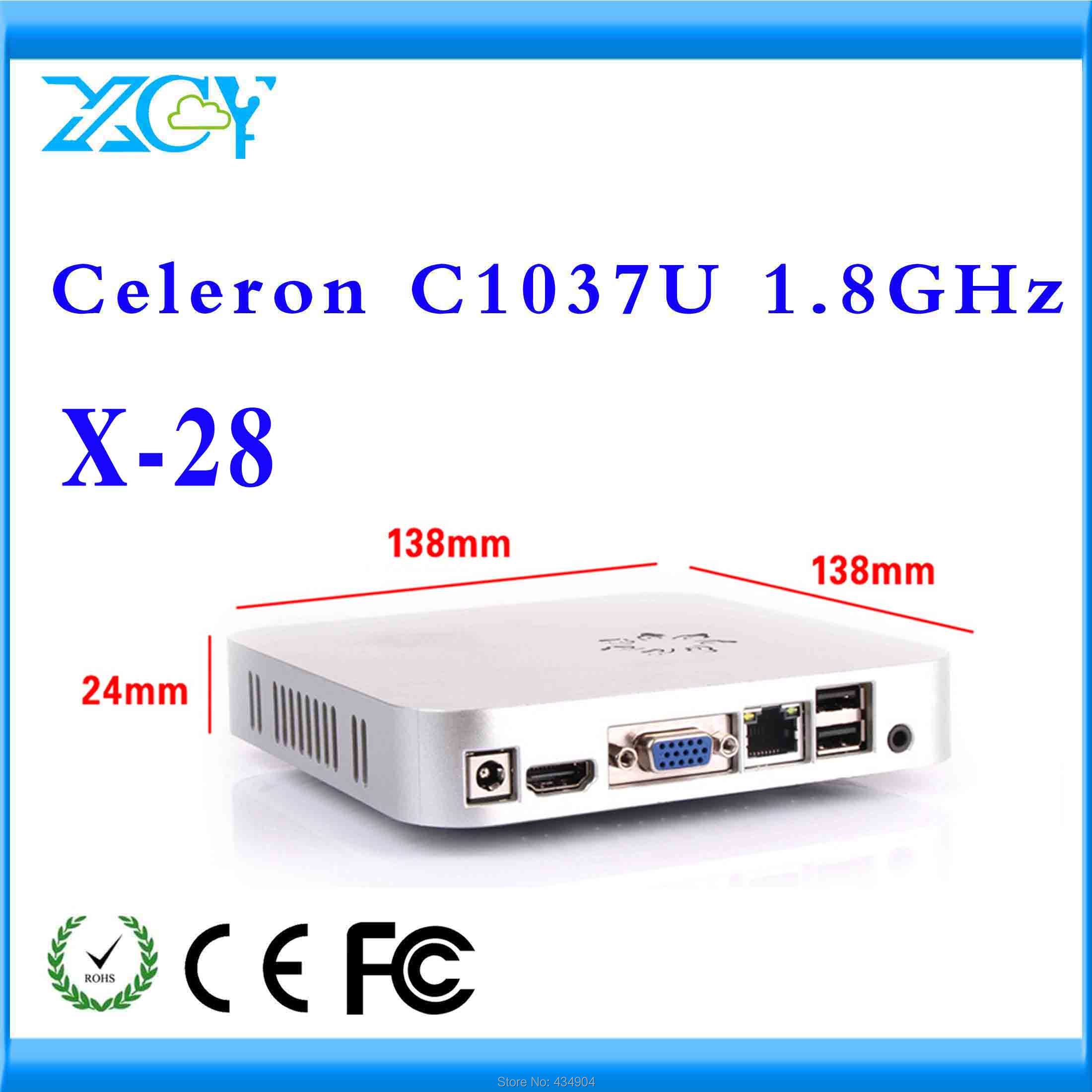 media center pc OEM thin client X28 c1037u Video Resolution:1920*1080 Promotional price !!! Various Colors!!!(China (Mainland))