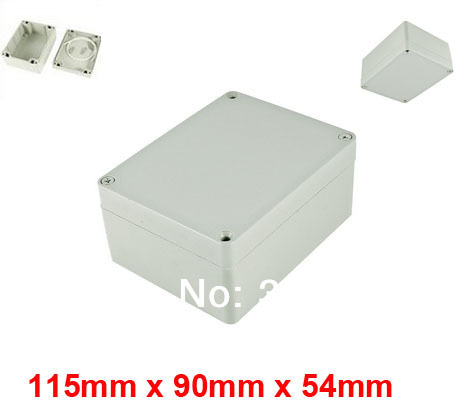 115mm x 90mm x 54mm Waterproof Plastic Case DIY Junction Box Joint Hinged Lid(China (Mainland))
