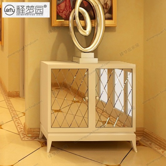 Interpretation of Dreams Park, shoe mirror furniture Continental sideboard cabinet modern minimalist entrance locker F1417(China (Mainland))