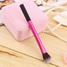 2015 HOT Selling Professional Pro Powder Blush Brush Makeup Foundation Tool Cosmetic Stipple Blending Fiber free shipping