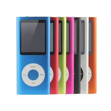 Slim 1.8' 4th 32GB Mp4 Player 30Hours Music Playing Time 9Colors  FM Radio Video Player(China (Mainland))