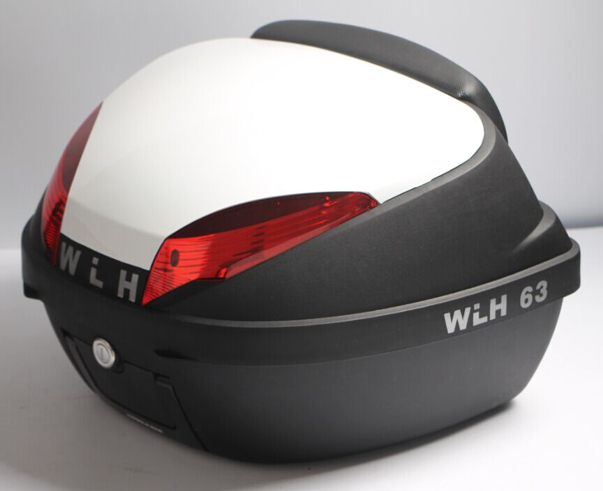 WLH 42L E63 motorcycle tail box electric bicycle trunk scooter top case(China (Mainland))
