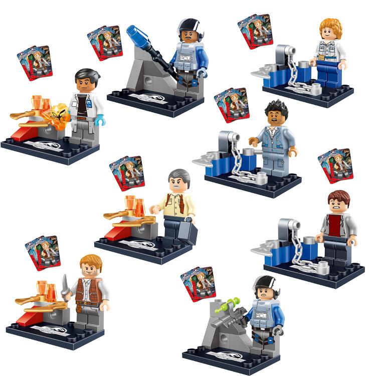 Jurassic World LELE 79058 Brinquedo Minifigures Educational Toy Building Blocks Sets Model Bricks Toys without Original Box(China (Mainland))