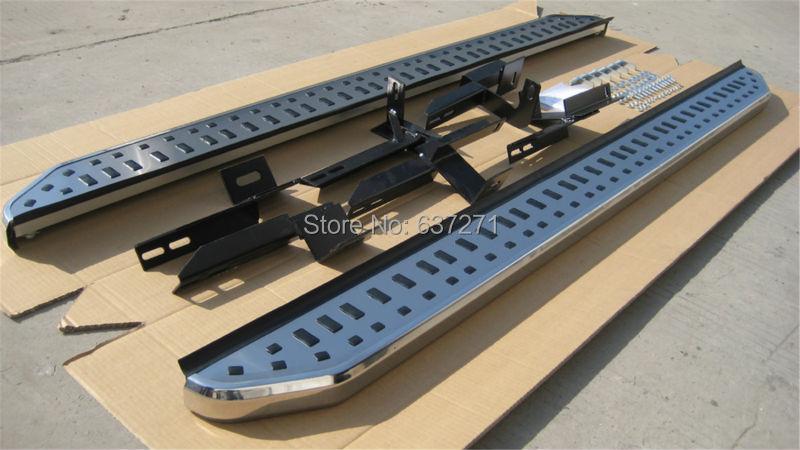 Discovery 4 foot plate Aluminium fixed nurf bar side step running board door-sill scuff plates treadplate pedals - RUIAN HUAZHI AUTO ACCESSORIES CO.,LTD store