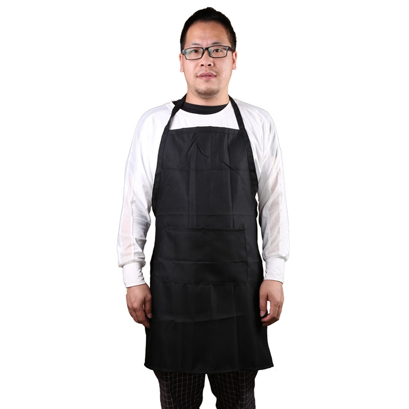 New 2016 Kitchen Cooker Chefs Apron Pinafore Front Pocket Oilproof Home Craft Baking Apron Women Men(China (Mainland))