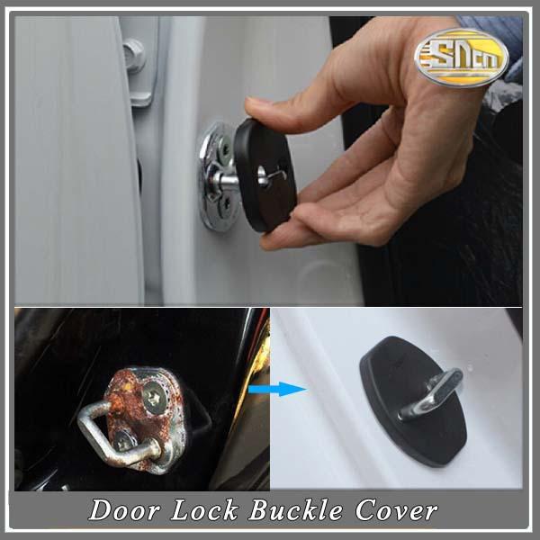 4pcs/lot,Waterproof And Rust-proof,2015 Car Accessories Of Car Door Lock Buckle Cover Case For Suzuki SX4 Kizashi Grand Vitara(China (Mainland))