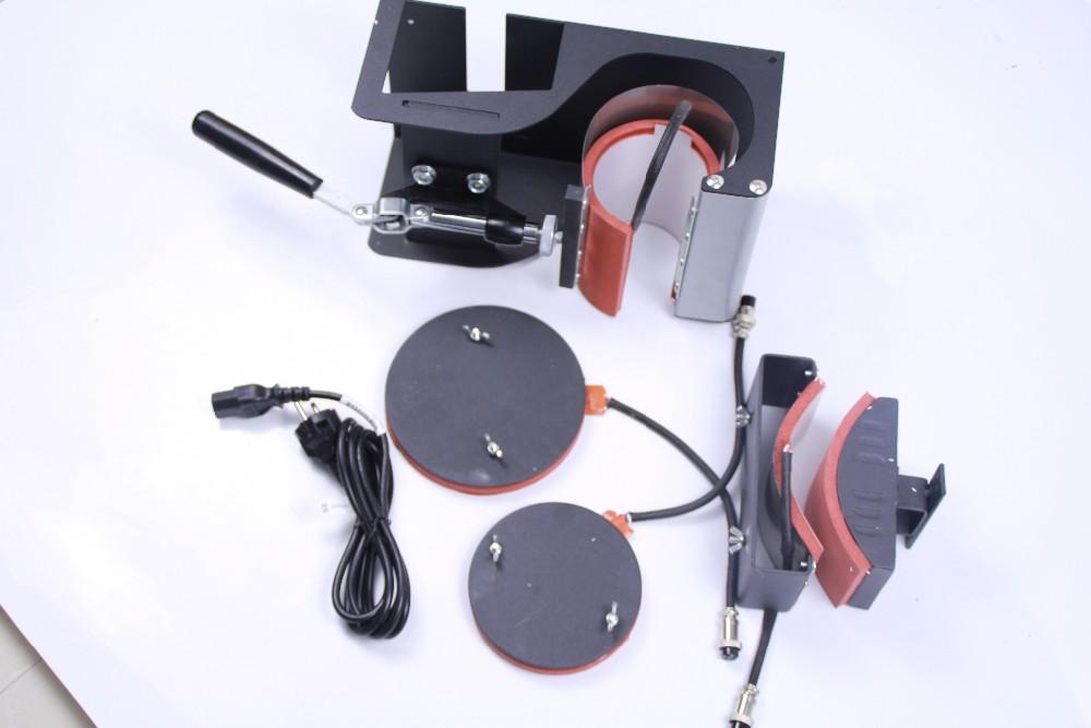 Купить 5 в 1 сублимация теплопередачи машины для Кружка Плиты Футболка Hat печати DX-035 Кружки, Тарелки, Футболки, шляпа печати