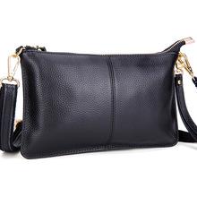 Hot Sale Cowhide Women Handbag Candy Color Casual Evening Clutch One Shoulder Messenger Hobo Designer Bag Crossbody Bag ZB-584